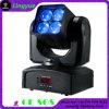 4X15W RGBW 4in1 LEDの洗浄ビーム移動ヘッドライト