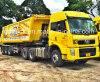 Faw J5p novo cabeça do trator de 80 toneladas