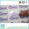 Diseño personalizado de PVC transparente pegatina