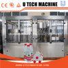 Garrafa de água mineral automática enchendo a linha de produção de máquinas de engarrafamento/planta