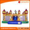 子供のおもちゃ(T6-050)のための膨脹可能な跳ね上がりの家の弾力がある城