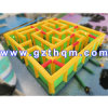labirinto gonfiabile del gioco di sport della tela incatramata del PVC di 0.55mm/labirinto emozionante gonfiabile dell'acqua per attività esterna