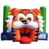 Qualidade comercial Tiger saltos insuflável castelo insuflável para crianças