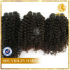 새로운 Arrival 6A-Peruvian Unprocessed Curly Wave Weft 100%년 Virgin Remy Human Hair Extension