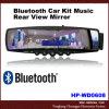 Bluetooth Auto-Installationssatz-Musik-hintere Ansicht-Spiegel (HP-WD0608)