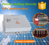 Solarreihen-Verzweigung Kasten-GLEICHSTROM Kombinator-Kasten mit Antidonner schützen den 12 Zeichenkette-Input