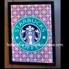 マクドナルドSign Name Coffee Outdoor Shops Light Box LED Coffee Signのため