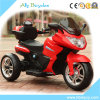 セリウムの男の子の小型競争の三輪車のトレーニングは電気オートバイ-赤動かす