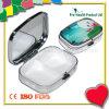 2 Fall-dekorativer Minimetalpille-Kasten mit Spiegel