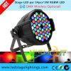 РАВЕНСТВО этапа 54*3W RGBW СИД может освещение для украшения венчания сделанного Фабрикой