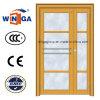 Qualität galvanisierte Stahlsicherheits-Metalleisen-Glastür (W-GD-14)