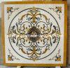 Teste padrão artístico elevado do mosaico para a decoração do assoalho