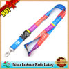 Kundenspezifisches Segmented Color Lanyard mit Th-Ds06099
