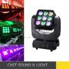 Dicso 9PCS 15W 4in1 LED Matrix Moving Head Beam Light