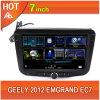 7 coche 2012 de Geely Emgrand Ec7 de la pulgada DVD