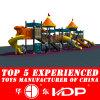 2014 пластиковых слайд-тип оборудования развлечений на открытом воздухе игрушки (HD14-104A)