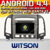 Hyundai New 산타페이 (W2-A7028)를 위한 Witson Android O.S. 4.4 Version Car DVD