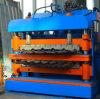El CE de China certificó el rodillo de la capa doble de la pared y de la azotea que formaba la máquina, rodillo esmaltado del azulejo que formaba la máquina