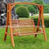 Сад патио для подвешивания поворотное кресло с поворотного механизма ткань из дерева