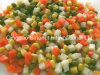 Legumes mistos enlatados (batata, cenoura, milho doce, ervilhas)