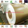 La bobina de aluminio con recubrimiento de color en 1100 de aleación 3003-PE-dorado