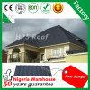 Tuile de toit enduite de matériau de toiture de pierre de technologie de la Nouvelle Zélande
