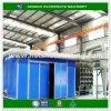 Industriële Zandstralende Kamer met de Collector van het Stof van het Systeem van de Terugwinning van het Zand en het Kostuum van de Bescherming