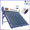 Pressurized compato Solar Water Heater com Heat Pipe