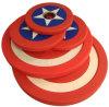 2017 el Capitán América PU el peso de la placa (SA16-C).