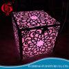 LED 가벼운 결혼식 가구 식탁을%s 가진 새겨진 예술 스테인리스