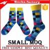 Populäre Argyle Jacquardwebstuhl-warme gemütliche kurze Kleid-Baumwolljunge Jungen-Gefäß-Socken