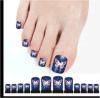 Collant adhésif de clou de collant d'art de clou de doigt de pied de guindineau à la mode