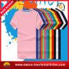 100 3D que hacen publicidad de la camiseta del blanco del algodón