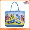 União impressos duráveis prático saco de praia para compras de Viagem