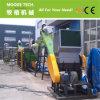 Bouteille de rebut du plastique HDPE/LDPE/PP écrasant le lavage réutilisant la machine