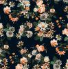 Nuevo tela tejida impresa de la ropa de la flor diseño