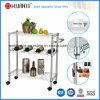 Carrello registrabile multifunzionale della cucina del metallo del bicromato di potassio con la maniglia (1309320)