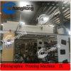 Machine d'impression flexographique colorée de papier enduit