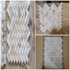White Polished Marble Mosaic Flooring/Walling/Bathroom Stone Tiles per Building Material