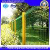 Galvanisierte PVC beschichtete geschweißte Maschendraht-Zaun-Filetarbeit