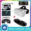 Controlador de Bluetooth + vidros de Vr da realidade virtual de Vr Shinecon Moke 3D