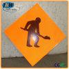 Пластичный дорожный знак движения/портативный предупреждающий знак уличного движения
