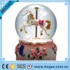 Sfera musicale della neve dell'OEM del globo della neve di natale