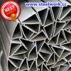 Pipe soudée par ERW d'acier du carbone de triangle (T-04)