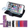Магнитное Wallet Leather Case с Card Holder на iPhone 6 (IP6-053)