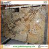 벽 싱크대를 위한 중국 아름다운 Shangri La 황금 대리석 도와