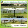 Parasol de playa promocional resistente del viento al aire libre de la sombrilla del paraguas del patio del jardín