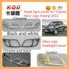 pour la couverture principale de lampe de pièces de rechange de Toyota Hilux Vigo pour la couverture de phare d'accessoires de chrome de voiture de champion de Toyota Hilux Vigo
