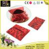 Sacco rosso dei monili di stampa di modo (8103)