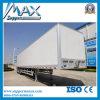 4X2 Dry Cargo Box Truck, Van Cargo Semi Trailer